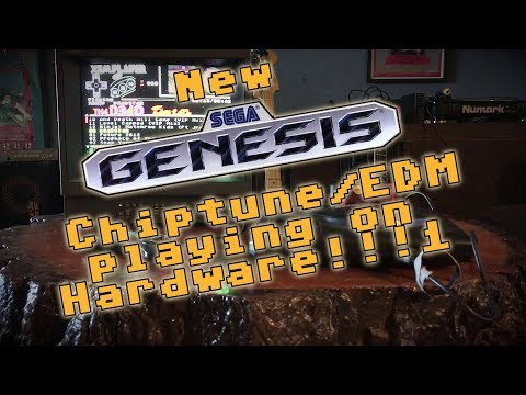 Future 2612 running on Sega Genesis Hardware! (my new chiptune album)