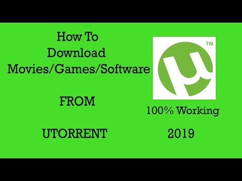 How To Download Movies From uTorrent 2019