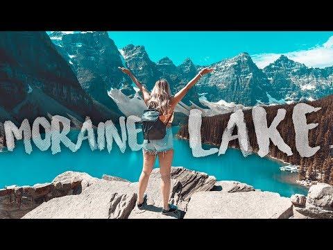 Moraine Lake & Lake Louise In Banff National Park, Alberta