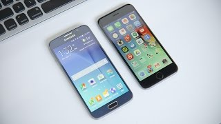 Samsung Galaxy S6 vs iPhone 6!