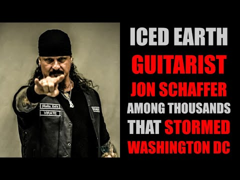 Guitarist, Jon Schaffer WANTED By FBI After DC Trump Rally
