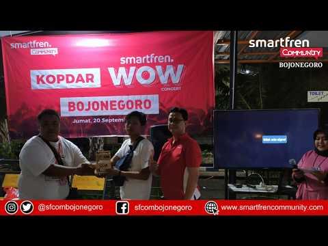 Menakjubkan Kopdar Smartfren WOW Concert Bojonegoro Berlangsung Meriah