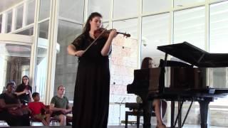 Saint-Saens, 3rd Violin Concerto, 1st movement