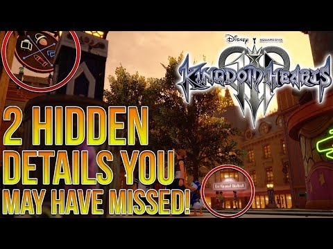 Kingdom Hearts 3 Classic Kingdom - 2 Hidden Details You May Have Missed!