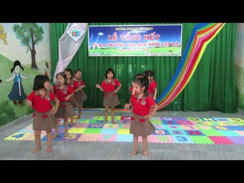 Múa dân vũ trống cơm_Khối Chồi_Trường mầm non Ban Mai Quận 9