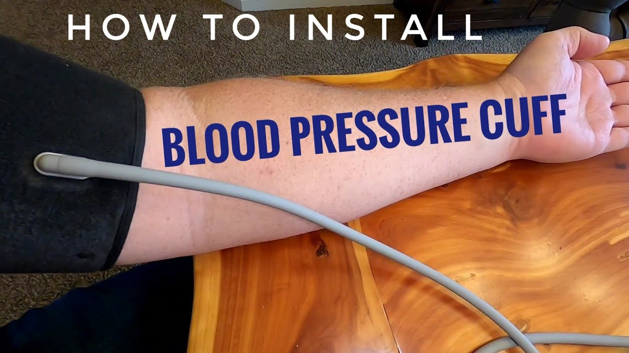 Download How To Install Blood Pressure Cuff on Upper Arm to Take Accurate reading with Monitor