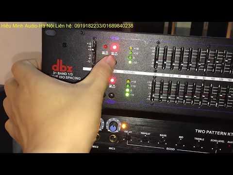 Lọc xì equalizer DBX 232 hát karaoke,nghe nhạc quá hay có 64 cần gạt giá 1tr850.Liên hệ:0919182233