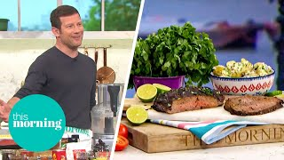 Dermot Takes Over The Kitchen To Make His Special Carne Asada! | This Morning