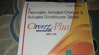 Orenz plus Digestive Enzyme tablet use and side effects full hindi review company Orgyn lab