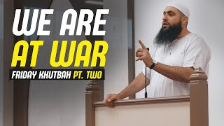 We are at war with Satan | Friday Khutbah | Mohamed Hoblos