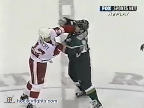 Stephane Robidas vs Sean Avery Dec 19, 2002