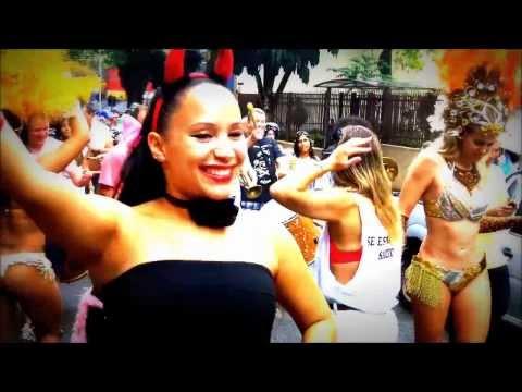 Carnaval de Rua 2014 - São Paulo/ Brasil (Making Of News) Higienópolis/ SP