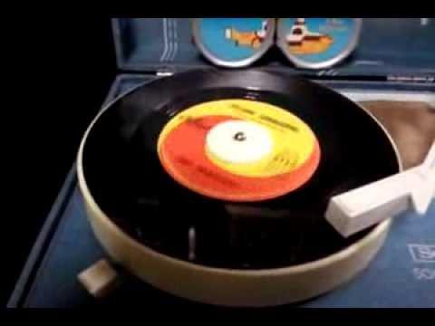 Yellow Submarine 45 r.p.m. single vinyl