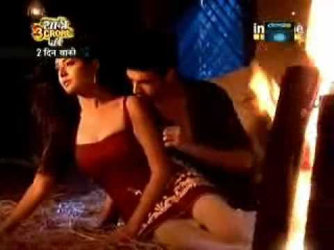 Arjun & Arohi Hauutt Sizzling Romance KMH2 25th, 26th Feb 2011