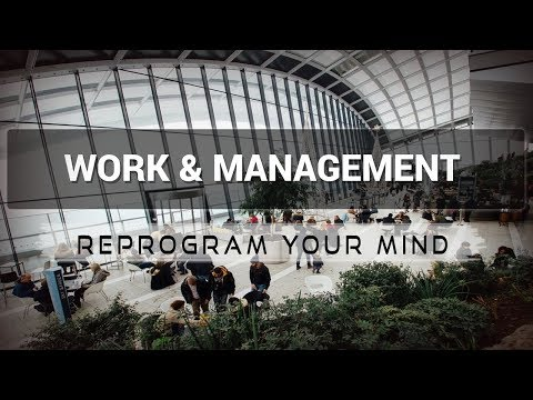 Positive Affirmations for Work & Management - Law of attraction - Hypnosis - Subliminal