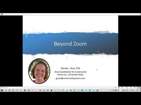 Distance Learning Ideas From The Field: Session 6