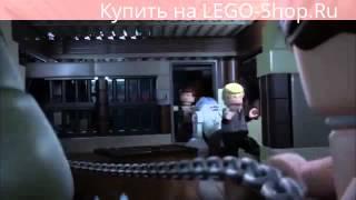 ЛЕГО Звездные войны минифильм: пустынный корабль Джаббы часть 2