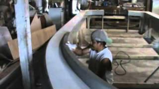 TCraft boatworks deck  plug final wax