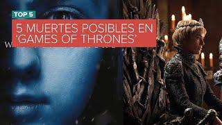 Los 5 personajes con muerte anunciada en 'Game of Thrones'