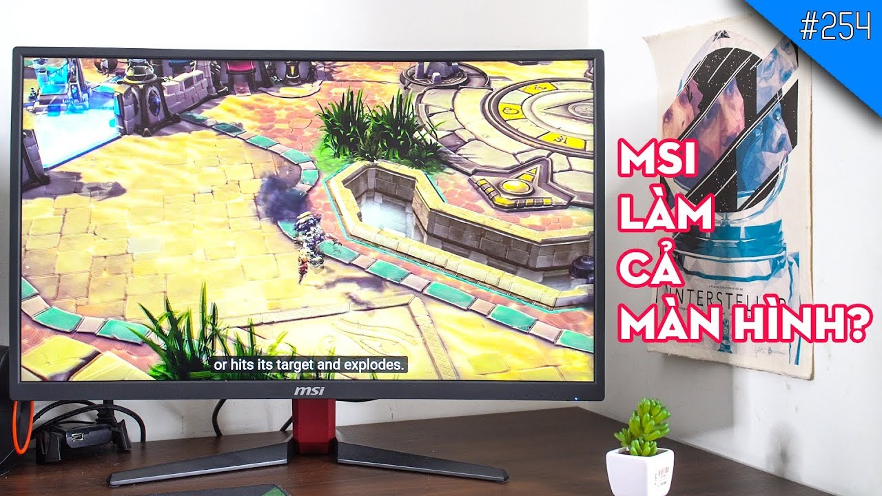 Trên tay màn hình 144Hz MSI OPTIX 27 G27C2: Ông vua trong tầm giá?