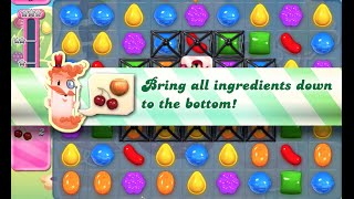 Candy Crush Saga Level 743 walkthrough (no boosters)