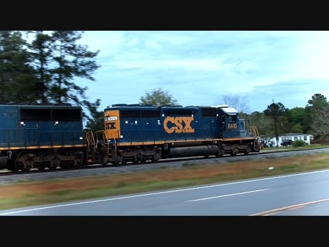 CSX Train Chasing Waycross Georgia