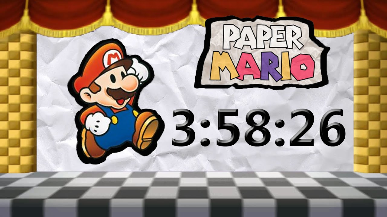 Paper Mario 64 Well Flower Fields Eczalinf