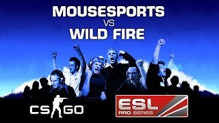 mousesports vs team wild fire map 1 grand final eps spring 2014 counter strike go