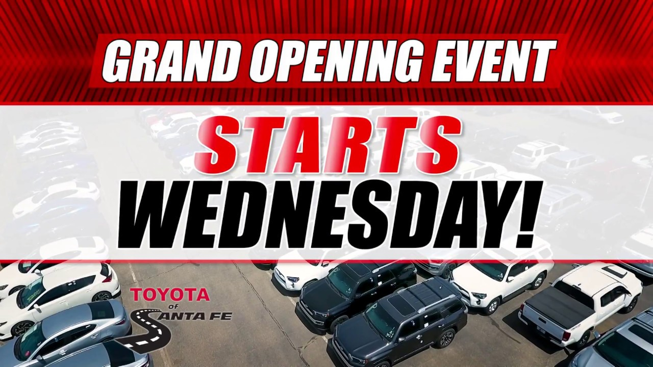Delightful Grand Opening 15 At Toyota Of Santa Fe | New Mexico Toyota Dealer
