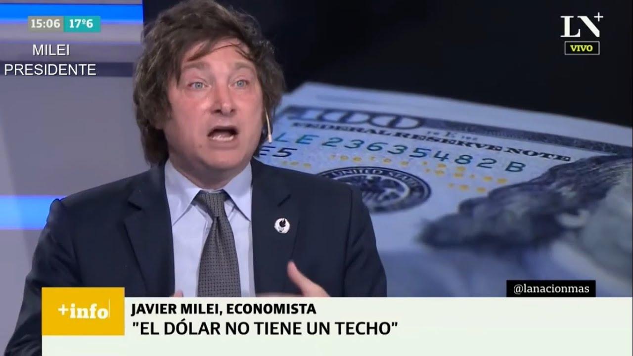 """Subsidio para usurpadores """"En Argentina todo es un delirio"""" Javier Milei en LN+- 28/10/20"""