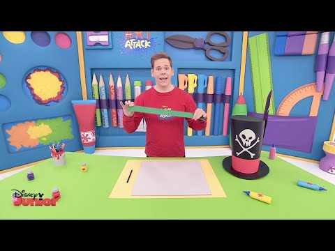Art Attack - Hats & Masks - Official Disney Junior UK HD
