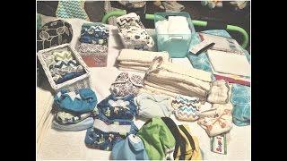 ~* One Size Cloth Diaper stash! *~