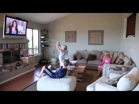 Logitech TV Cam HD video call on Skype