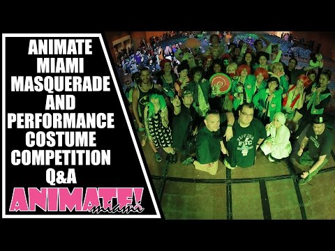 Animate Miami 2015 Masquerade Costume and Performance Competition