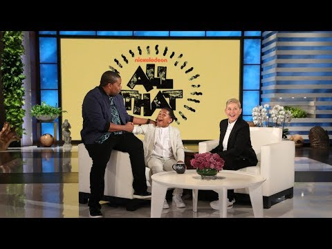 Kenan Thompson Gives Kid Rapper Young Dylan an 'All That' Surprise