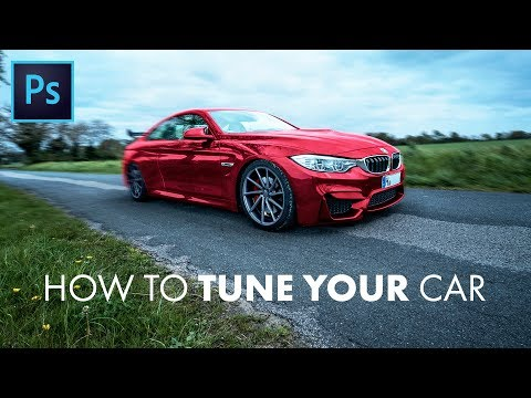 Photoshop Tutorial: Car Tuning (CC 2017 Tutorial) (IMAGES INCLUDED!)