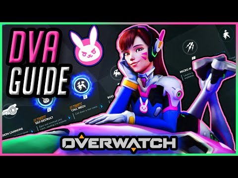 How To Play DVA | Guide & Gameplay Tips [Overwatch]