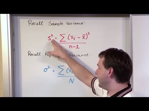 Population and Sample Standard Deviation Calculation - Statistics Tutorial
