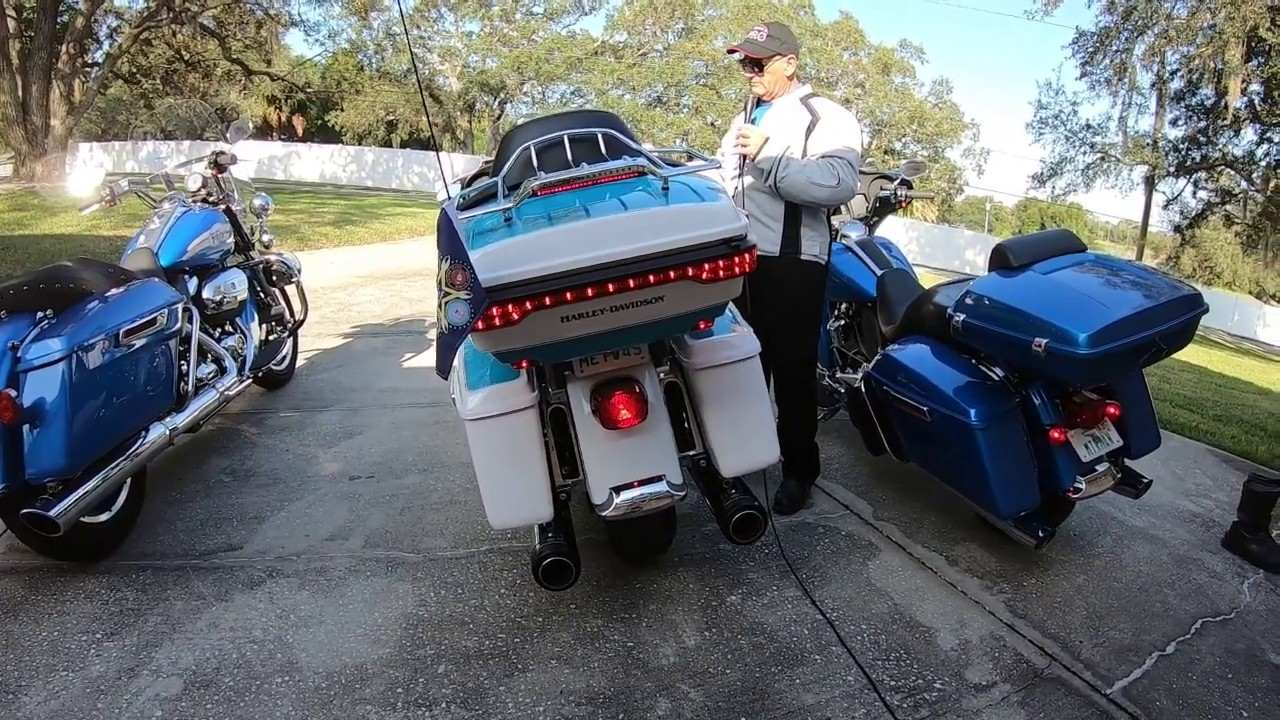 2020 Harley slip-on comparisons