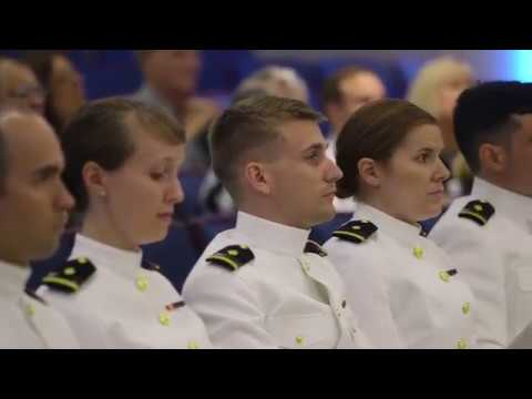 2018 EVMS Military Commissioning Ceremony