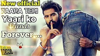 TERE JAISA YAAR KAHAN | JATT DA BLOOD | PUNJABI SONG BEST VIDEO ON FRIENDSHIP