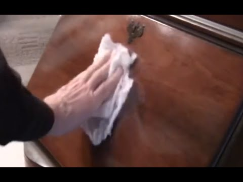 How To Remove Wax/Oil From Surfaces DIY
