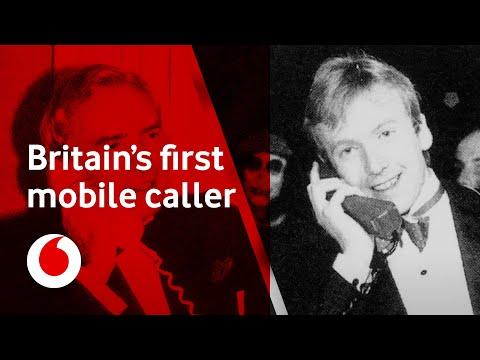 Britain's first mobile caller - Michael Harrison