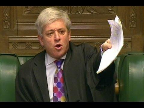 Arsene Wenger Deserves Respect! | John Bercow, Speaker Of The House of Commons