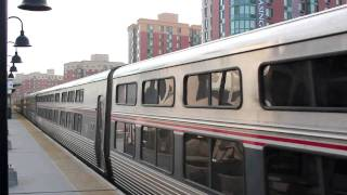 Amtrak & Metro-North w/ Lake Shore Limited w/ 2 NJT Comet 1B