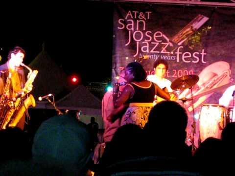 "Sharon Jones and the Dap-Kings ""Be Easy"" San Jose Jazz Festival"