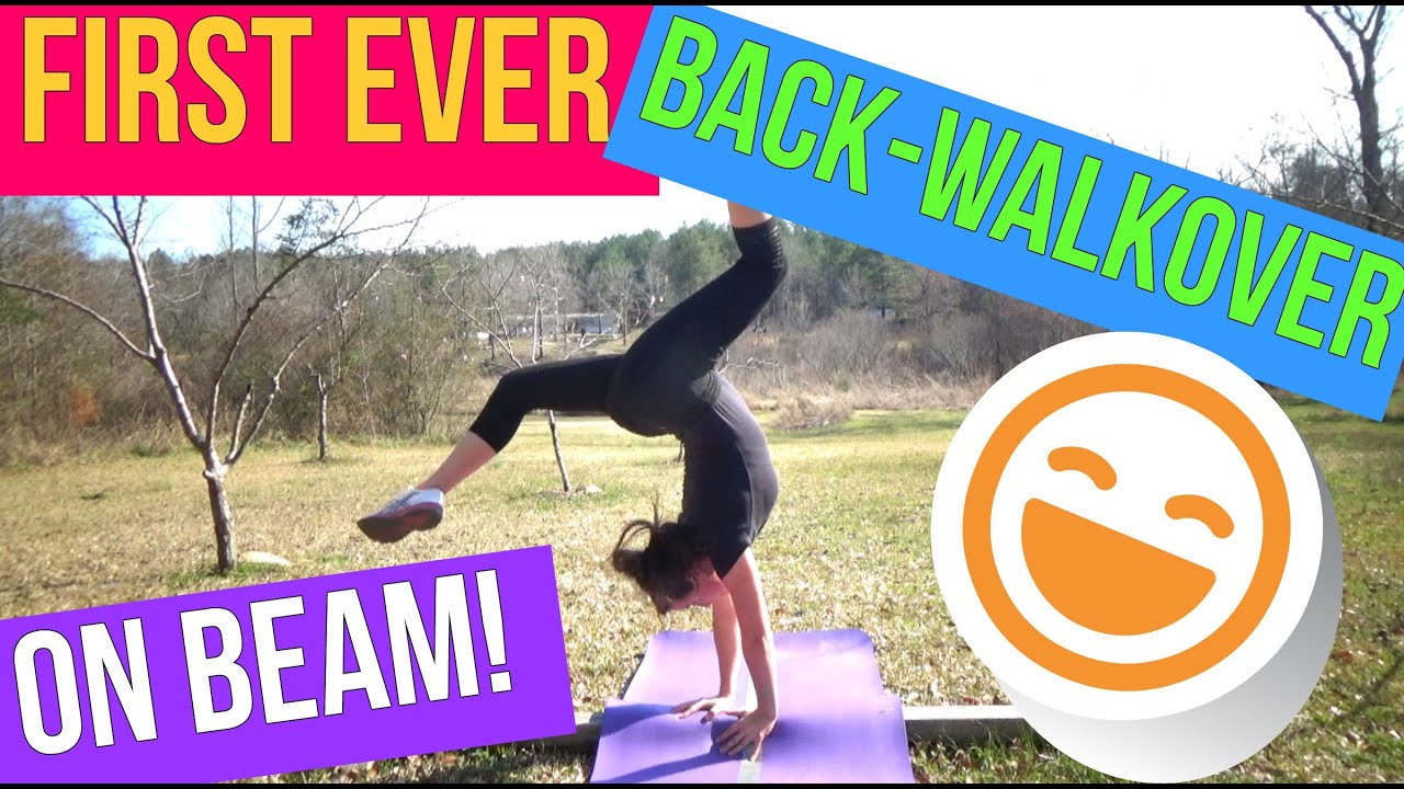 How To Do A Back Walkover (For Beginners) - YouTube