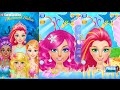 Mermaid Salon Magic Word SPA Dress-up Hair Style Eye Color And Put The Makeup On