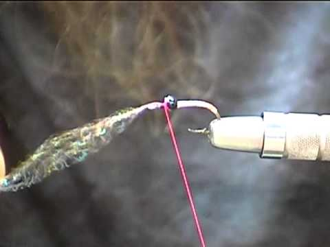 Fly tying the Panfish Charlie