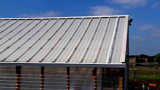Hail Proof Greenhouse Roofing Material